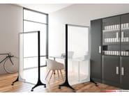 Akustikelemente und Abschirmungen BARRISOL® MICROSORBER | Schreibtisch-Trennwand by BARRISOL