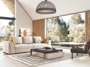 3 seater fabric sofa BENNY by PRADDY