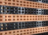 Trennwandsystem aus Terrakotta BRAC by Mutina