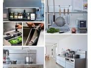 Professional stainless steel kitchen C3 | Kitchen by MARRONE + MESUBIM