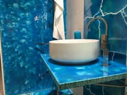 Acquario Due | Ceramic and lava tiles