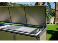 Cucina da esterno a gas con barbecue Cucina da esterno con ...