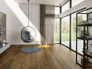 Prefinished brushed wooden parquet CENTURY by Corà