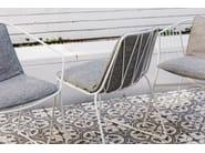 Silla de acero revestido de polvo de jardín CHEE | Silla by SP01