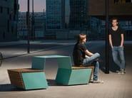 CODE   Tavolo da picnic con panchine integrate