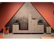 Modular office storage unit COTTAGE by Mizetto