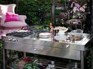 Cucina da esterno a gas elettrica con grill OUTDOOR 130 | Cucina da esterno con grill by ALPES-INOX