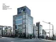 FACCIATA CONTINUA Commercial Building_Seoul_Collection_Neve_Fumo_Perla