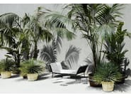 Diván de jardín tapizada de tela DAY DREAM by Living Divani