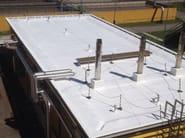 Vernice acrilica opaca di finitura per membrane bituminose