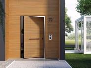 DI.BIG Porta blindata a bilico Di.Big con boiserie esterna