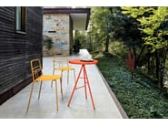 Stackable metal garden chair with armrests DIDA | Chair with armrests by CaStil