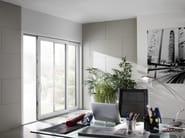 Porta-finestra alzante scorrevole in PVC