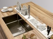Kitchen Equipped Track EASYRACK KITCHEN STEP | Draining Board By DOMUSOMNIA