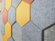 Panneau acoustique mural en PET ECHOBRICK® by ECHOJAZZ
