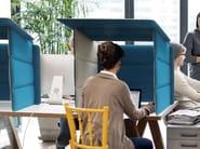 ECOBOOTH   Pannello divisorio da scrivania