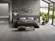 Porcelain stoneware wall/floor tiles with stone effect EGO GRIGIO SCURO by Provenza