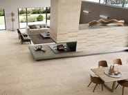 Porcelain stoneware wall/floor tiles with stone effect EGO SABBIA by Provenza