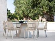 Rope garden chair EMMA | Chair by Varaschin