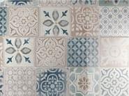 Wandverkleidung aus weißscherbige keramik frame by ragno