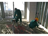 Screed and base layer for flooring FZ99 RAPID by Ferrimix