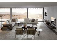 Sectional fabric sofa GREGOR | Sofa by Molteni & C.