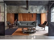 Leather sofa HARRIS by Arketipo