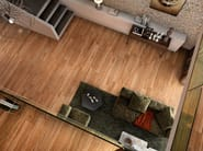 Porcelain stoneware flooring with wood effect HERITAGE by RECER