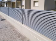 Screening galvanized steel Fence HORIZON PLUS by GRIGLIATI BALDASSAR