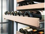 Vinoteca verticales de acero inoxidable con puerta de cristal Clase A+ ICBIW-30R | Vinoteca encastrable by Sub-Zero
