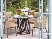 Runder Tisch aus Kristall INFINITY | Runder Tisch by Porada