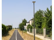 LED aluminium street lamp on pole LIKE by GHM-ECLATEC