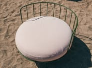 Garden steel easy chair LOU | Easy chair by calma