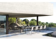 Table extensible de jardin LUNA | Table extensible by MANUTTI