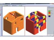 MACRO MURI 3D Vista 3D del modello e ColorMap dei Macroelementi