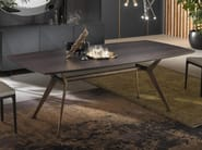 Rectangular wooden table MASTER | Wooden table by RIFLESSI