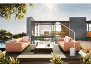 Rectangular aluminium coffee table MOLO | Rectangular coffee table by Kettal