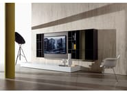 Sectional TV wall system N.C. SMARTWALL by ACERBIS