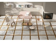 Porcelain stoneware wall/floor tiles with wood effect NUANCE DECORI by Panaria Ceramica