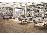 Porcelain stoneware wall/floor tiles with wood effect NUANCE by Panaria Ceramica
