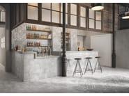 Pavimento/rivestimento in gres porcellanato effetto cementine OPUS by Casalgrande Padana