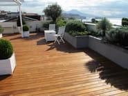 Parquet extérieur en teck OUTDOOR | Teak decking by DELBASSO Parquet