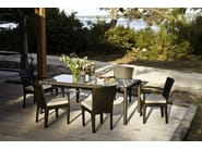 Garden chair with armrests PANAMA   Chair with armrests by Dedon