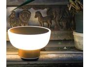 Lampada da tavolo a LED in polietilene PATIO by ALMA LIGHT