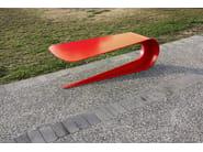 Panchina modulare in acciaio PETALO by LAB23