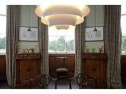 Direct-indirect light aluminium pendant lamp PH SNOWBALL   Pendant lamp by Louis Poulsen