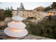Resin floor lamp PIRLA by Karman