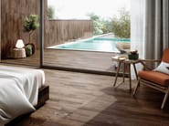 Porcelain stoneware flooring with wood effect PITCH PINE by RECER