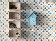 Double fired ceramic wall tiles play by ceramica d 39 imola for Ceramica d imola