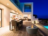 POD 40 Outdoor Deck Digital Render